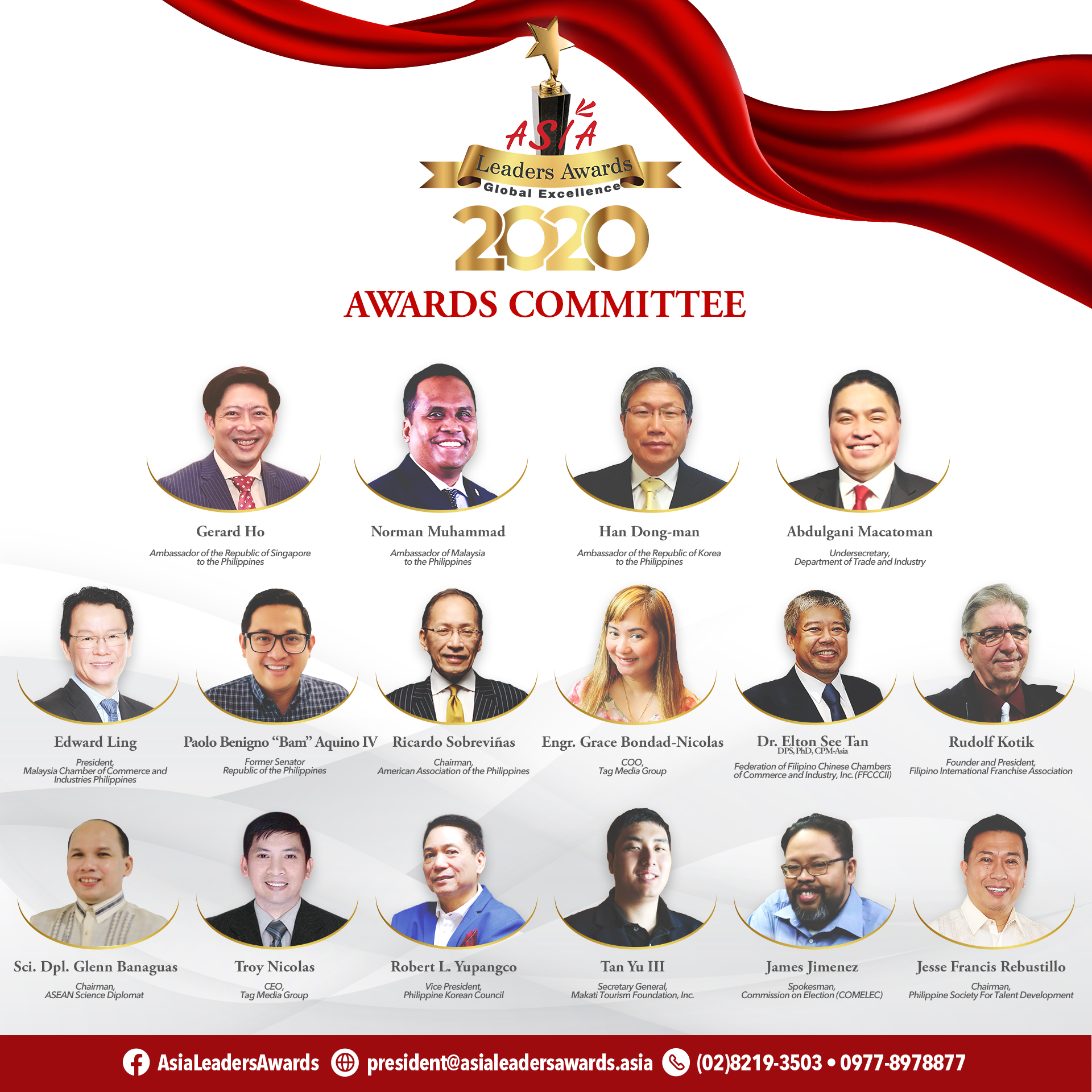 Asia Leaders Awards Committee - 2020